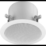 Monacor EDL-80DT loudspeaker 2-way 30 W White Wired