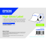 Epson C33S045729 printer label White
