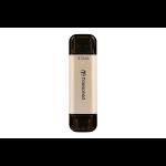 Transcend JetFlash 930C USB flash drive 512 GB USB Type-A / USB Type-C 3.2 Gen 1 (3.1 Gen 1) Gold