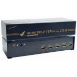 Dynamode 4 Port HDMI Splitter v1.4 High Speed / 3D / ARC / Ethernet