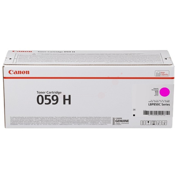 Canon 3625C001 (059 H) Toner magenta, 13.5K pages