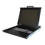 """StarTech.com 1U 17"""" LCD KVM Rack Console 17"""" 1280 x 1024pixels Rack Console"""