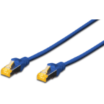 Microconnect SFTP6A005BBOOTED 0.5m Cat6a S/FTP (S-STP) Blue networking cable