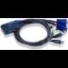 Aten CS62US interruptor KVM Negro