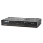 Planet VC-234 network switch Managed Fast Ethernet (10/100) Black 1U