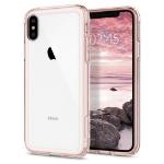 """Spigen 063CS25142 mobiele telefoon behuizingen 14,7 cm (5.8"""") Hoes Roze, Transparant"""
