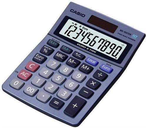 Casio MS-100TER calculator Desktop Display