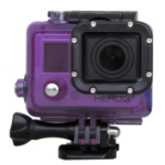 Urban Factory Waterproof Case Purple: for GoPro Hero3 and 3+ cameras