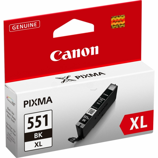Canon 6443B001 (551 BKXL) Ink cartridge black, 950 pages, 11ml
