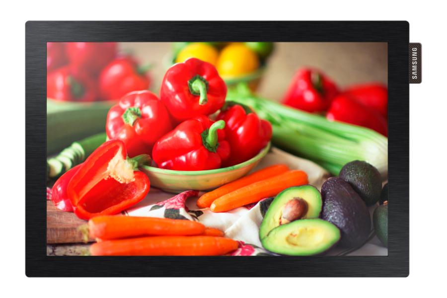 "Samsung DB10D Digital signage flat panel 10.1"" LED Black"
