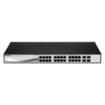 D-Link DGS-1210-24P network switch L2 Gigabit Ethernet (10/100/1000) Black