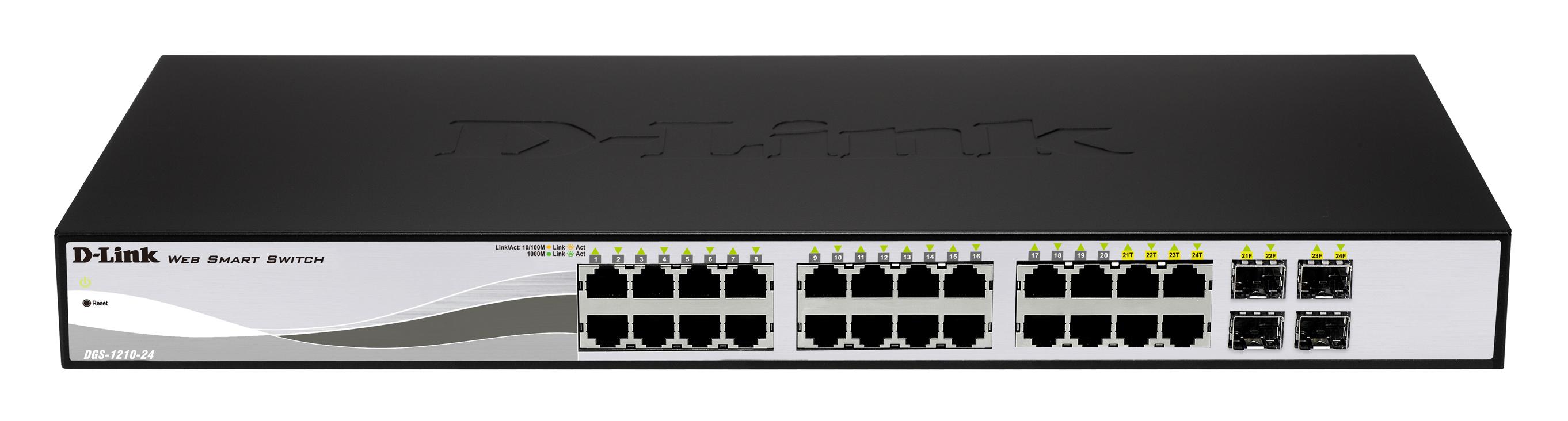 D-Link DGS-1210-24P network switch
