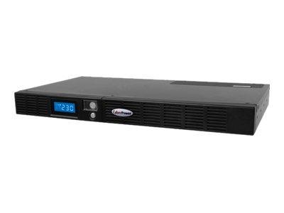CyberPower OR600ELCDRM1U 600VA 6AC outlet(s) Rackmount Black uninterruptible power supply (UPS)