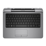 HP Pro x2 612 BL Power Keyboard United Kingdom - UK English localization