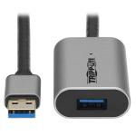 "Tripp Lite U330-10M-AL USB cable 393.7"" (10 m) USB 3.2 Gen 1 (3.1 Gen 1) USB A Black, Gray"