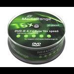 MediaRange MR403 4.7GB DVD-R 25pc(s) blank DVD