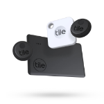 Tile Essentials 4-Pack Bluetooth Black, White