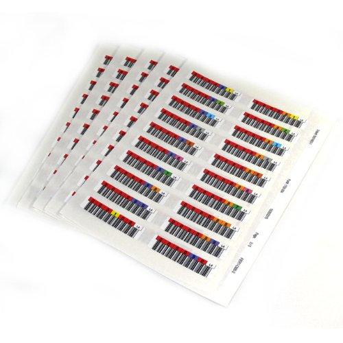 Quantum 3-06397-10 barcode label Multicolor