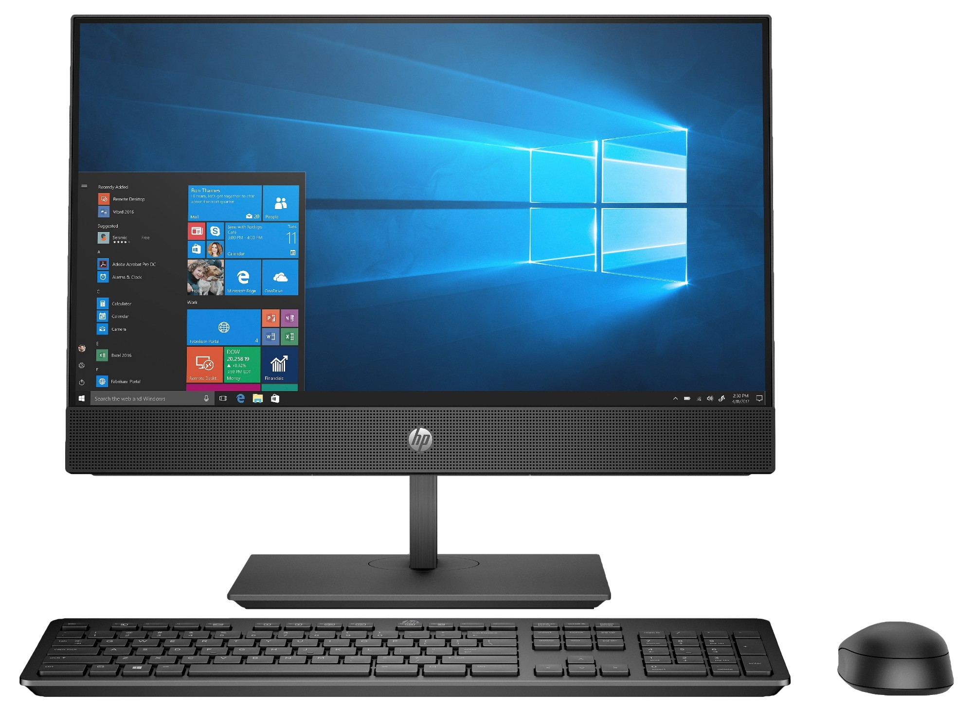 "HP ProOne 600 G4 54.6 cm (21.5"") 1920 x 1080 pixels Touchscreen 8th gen Intel® Core™ i7 i7-8700 16 GB DDR4-SDRAM 512 GB SSD Black All-in-One PC"