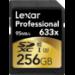 Lexar LSD256CBEU633 256GB SDXC UHS Class 10 memory card