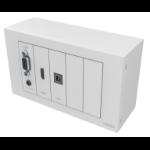 Vision TC3-PK+PK5MCABLES outlet box White