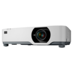 NEC P525UL data projector 5000 ANSI lumens 3LCD WUXGA (1920x1200) Ceiling / Floor mounted projector White