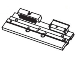 Zebra P1053360-018 printkop Direct thermisch