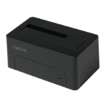 LogiLink QP0026 storage drive docking station USB 3.2 Gen 1 (3.1 Gen 1) Type-B Black