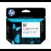 HP Cabezal de impresión 91 magenta claro y cian claro