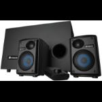 Corsair SP2500 2.1channels 232W Black speaker set