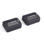 Black Box USB 2.0 EXTENDER 1PORT CAT5 Network transmitter Black