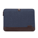 """Brenthaven THE COLLINS SLEEVE notebook case 11"""" Sleeve case Blue, Brown"""