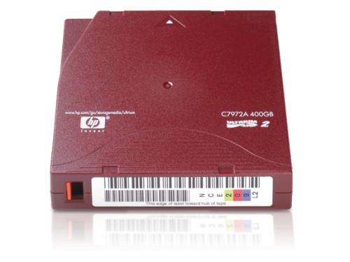 Hewlett Packard Enterprise C7972A blank data tape LTO 200 GB 1.27 cm