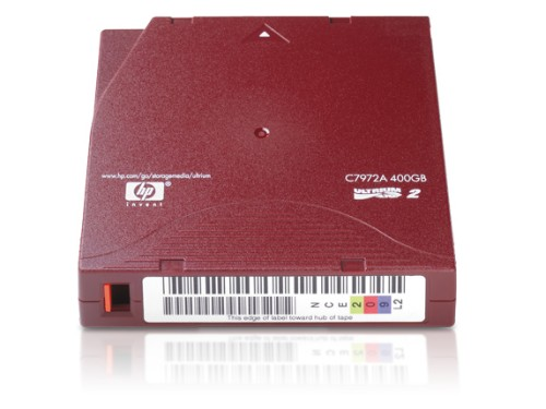 Hewlett Packard Enterprise C7972A blank data tape LTO 200 GB 1.27 cm
