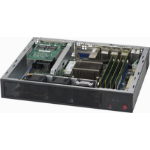 Supermicro CSE-E300 computerbehuizing Rack Zwart