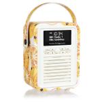 ViewQwest Retro Mini Emma Bridgewater Marmalade radio Portable Analog & Digital Orange,White