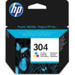 HP N9K05AE (304) Printhead cartridge color, 120 pages @ 5% coverage, 2ml