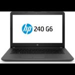 "HP 240 G6 Zwart Notebook 35,6 cm (14"") 1366 x 768 Pixels 2,3 GHz Zevende generatie Intel® Core™ i3 i3-7020U"