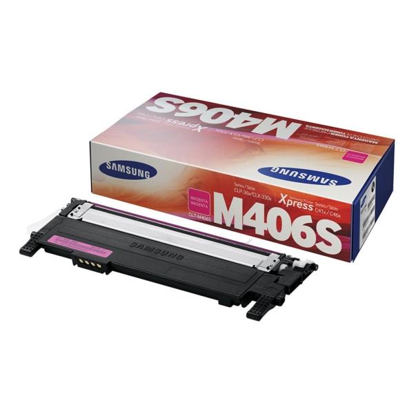 Samsung CLT-M406S/ELS (M406) Toner magenta, 1000 pages