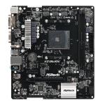 Asrock X370M-HDV AMD Socket AM4 Micro ATX VGA/DVI-D/HDMI DDR4 USB 3.1 Motherboard