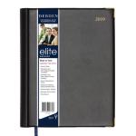ELITE DIARY 2019 ELITE EXECUTIVE 246X164MM WTV BLACK ( EACH )