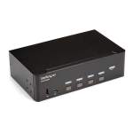 StarTech.com 4 Port HDMI KVM Switch - 4K 30Hz - Dual Display