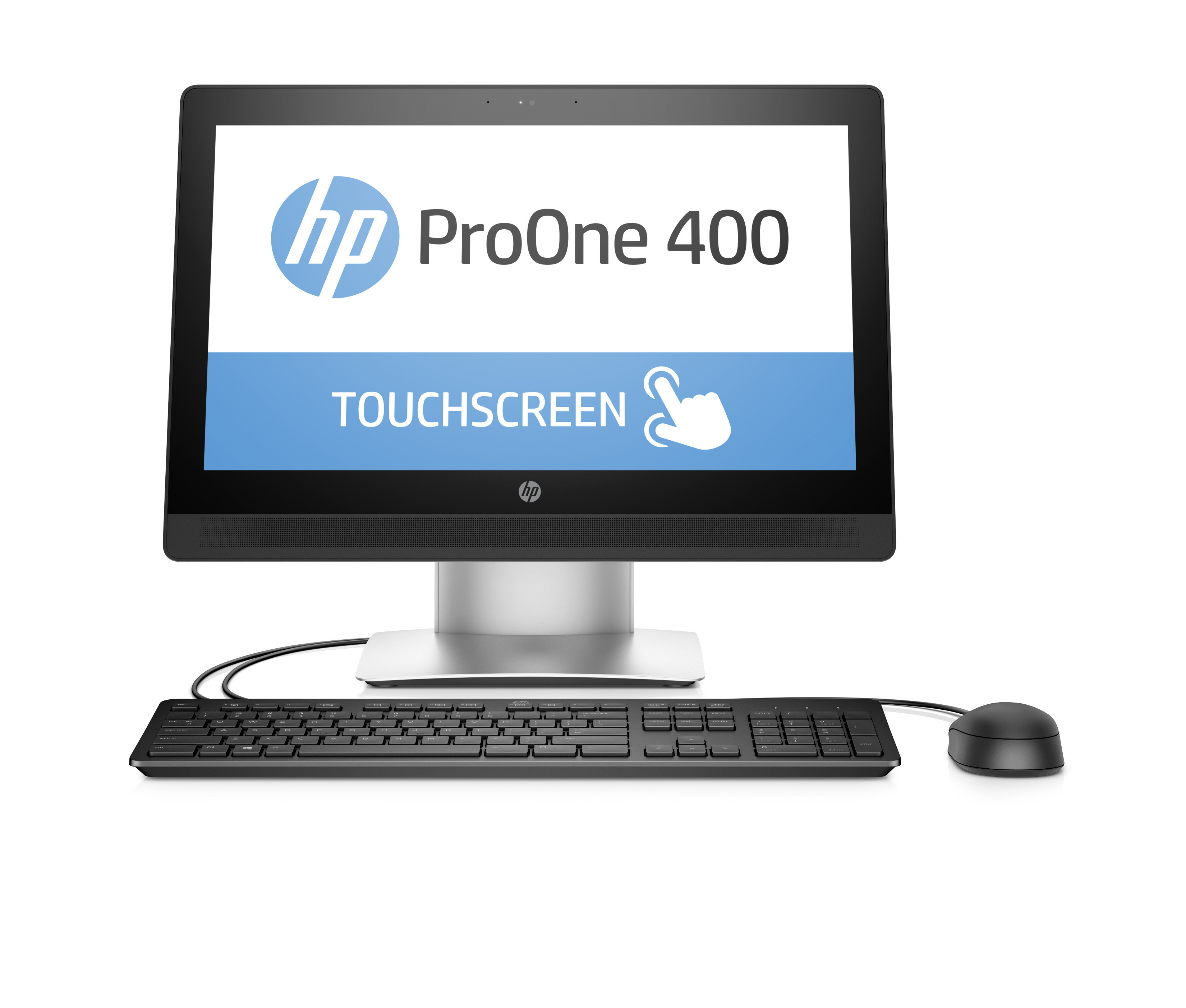 "HP ProOne 400 G2 3.2GHz 20"" 1600 x 900pixels Touchscreen Silver"