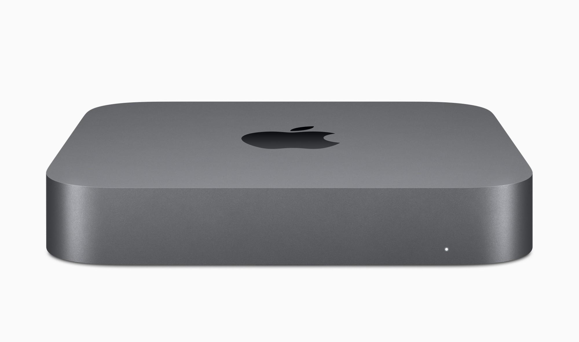 Apple Mac mini 8th gen Intel® Core™ i5 8 GB DDR4-SDRAM 512 GB SSD Mini PC Grey