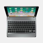 Brydge BRY8002-B mobile device keyboard Grey Bluetooth QWERTY English