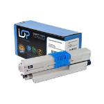 Click, Save & Print Remanufactured Oki 44973536 Black Toner Cartridge