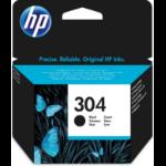 HP N9K06AE (304) Printhead cartridge black, 100 pages @ 5% coverage, 4ml