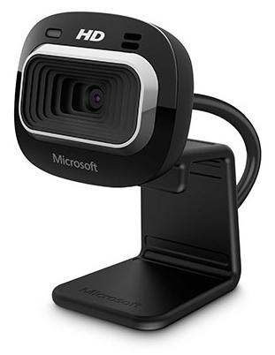 Microsoft LifeCam HD-3000 for Business 1MP 1280 x 720pixels USB 2.0 Black webcam