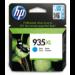 HP Cartucho de tinta original 935XL de alta capacidad cian