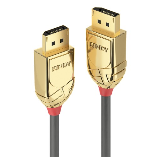 Lindy 36293 DisplayPort cable 3 m Gold